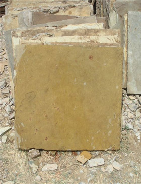 Recl Flag Stone Buff 2 x 2 ft