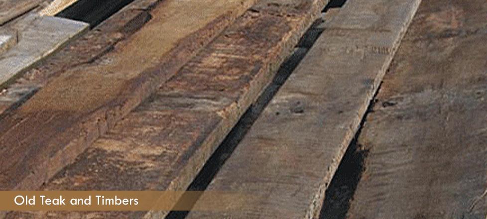 Reclaimed Teak Planks